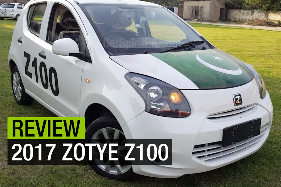 Review: 2017 Zotye Z100 2