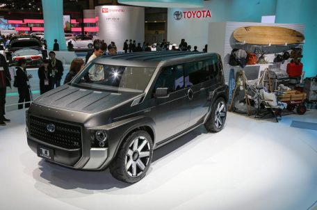 Toyota's Macho TJ Cruiser Concept to Go into Production 13