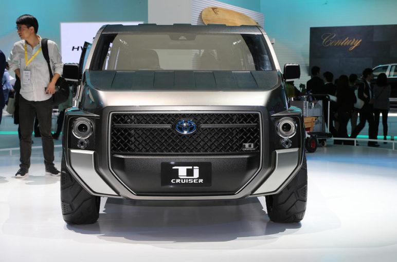 Toyota's Macho TJ Cruiser Concept to Go into Production 2