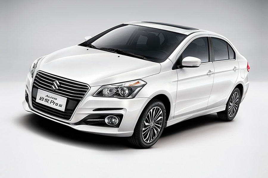 Suzuki Alivio Pro (Ciaz Facelift) launched in China 1
