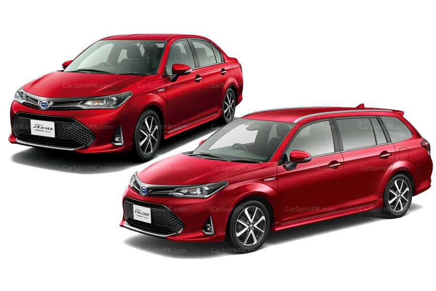 2018 Toyota Corolla Axio and Fielder Refresh Officially Revealed 2