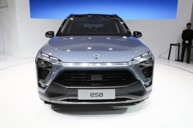 NIO will Launch the ES8 Electric SUV in December 6