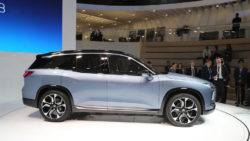 NIO will Launch the ES8 Electric SUV in December 11