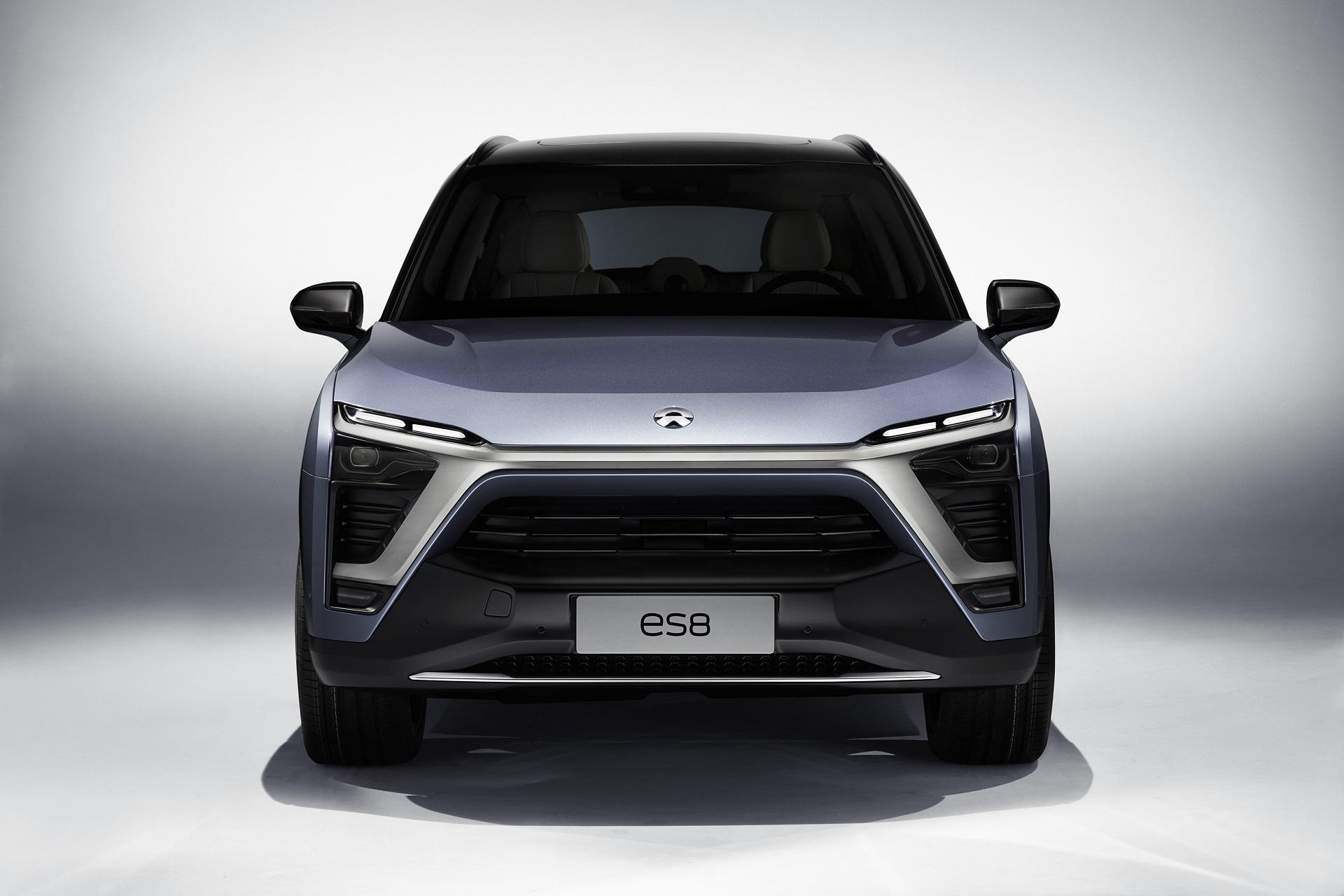NIO will Launch the ES8 Electric SUV in December 1