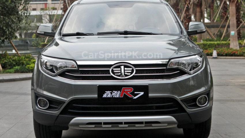 FAW R7 SUV Spotted Testing in Karachi 8