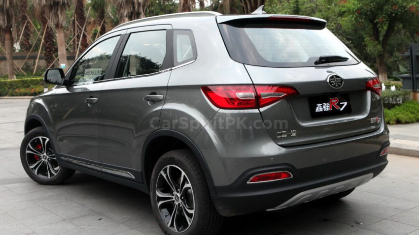 FAW R7 SUV Spotted Testing in Karachi 9