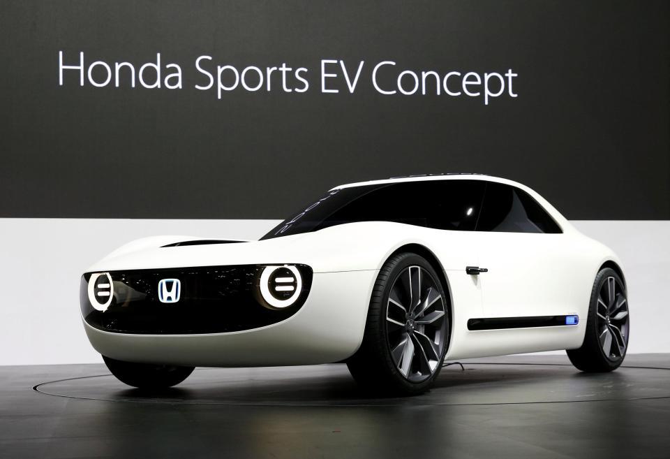 Honda Sports EV Concept At 2017 Tokyo Motor Show