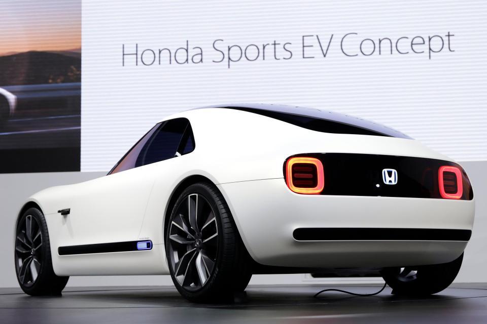 Honda Sports EV Concept at 2017 Tokyo Motor Show 2