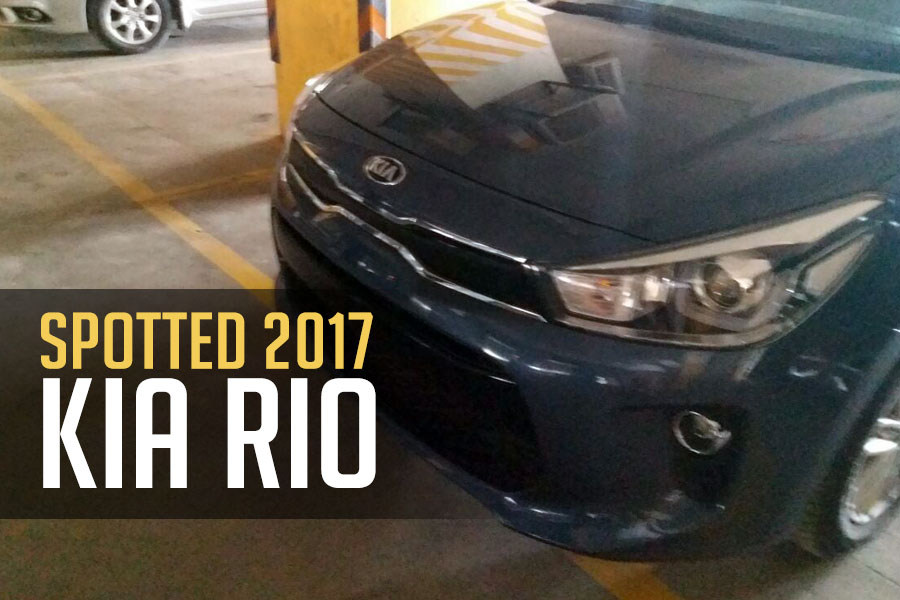 Another KIA Rio Spotted... 27