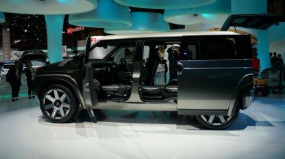 Toyota's Macho TJ Cruiser Concept to Go into Production 5