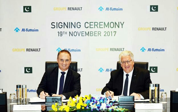 Renault Officially Announces it's Entry in Pakistan 2