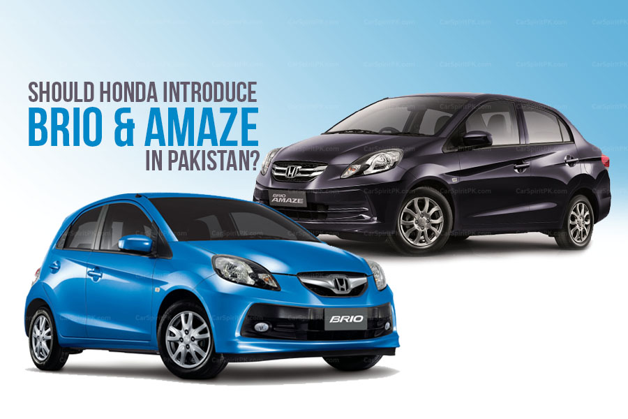 Should Honda Atlas Introduce Brio & Amaze in Pakistan? 31