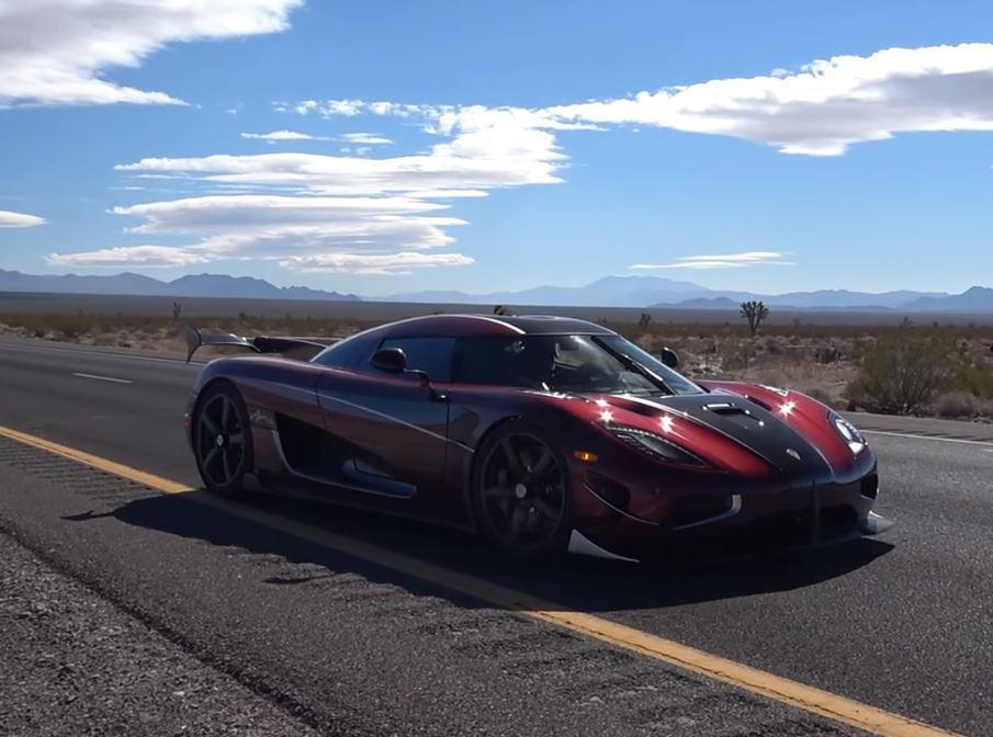 457 km/h- The Agera RS is officially the World's Fastest ...