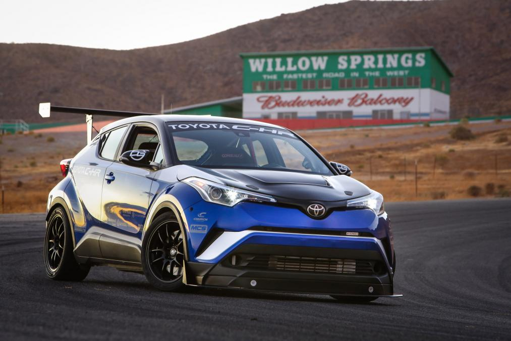 Toyota C-HR R-Tuned Claims 'World's Fastest Crossover' 1