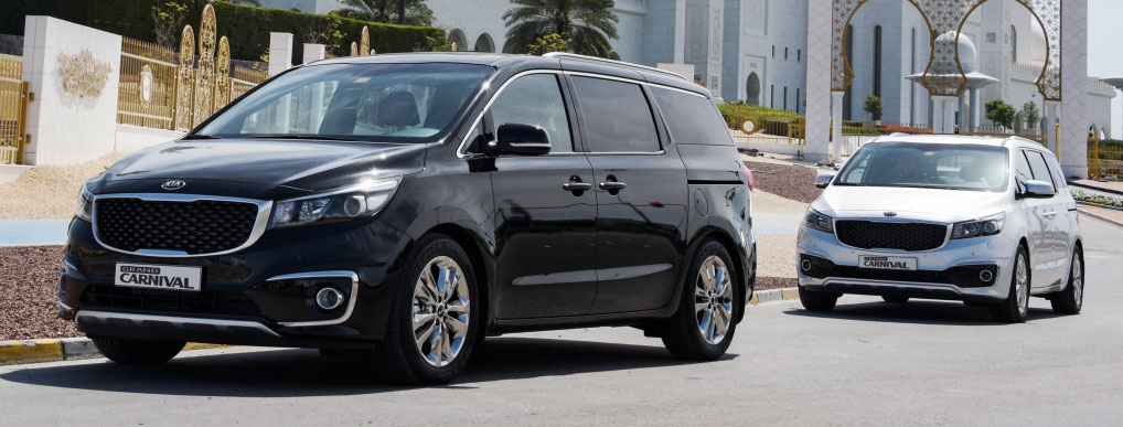 The Upcoming KIA Grand Carnival 16
