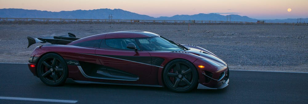 457 km/h- The Agera RS is officially the World's Fastest Car 2