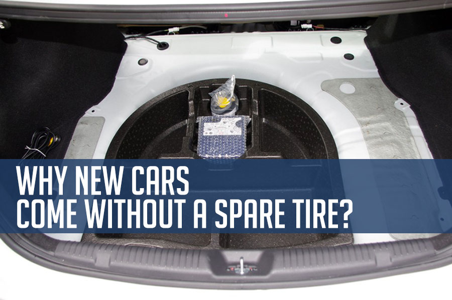 Why New Cars Don't Include a Spare Tire? 2