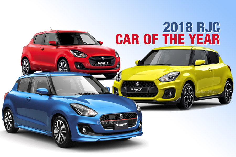 Suzuki Swift Wins 2018 RJC Car of the Year Award 38