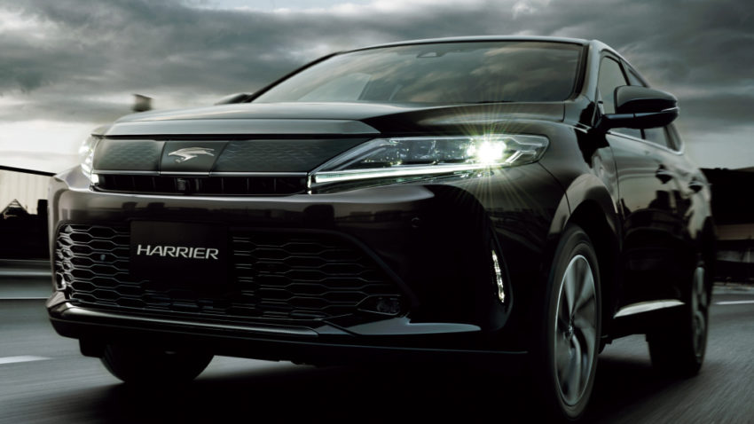 2018 Toyota Harrier will officially be sold in ASEAN Markets 4