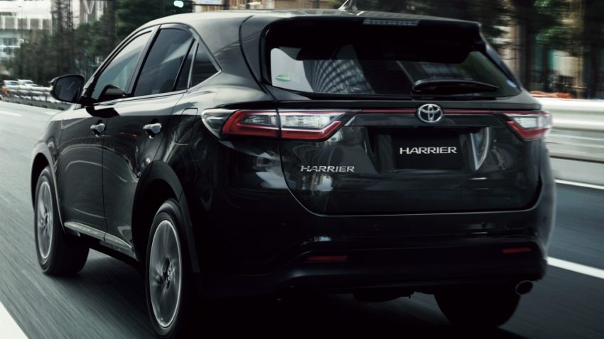 2018 Toyota Harrier will officially be sold in ASEAN Markets 5