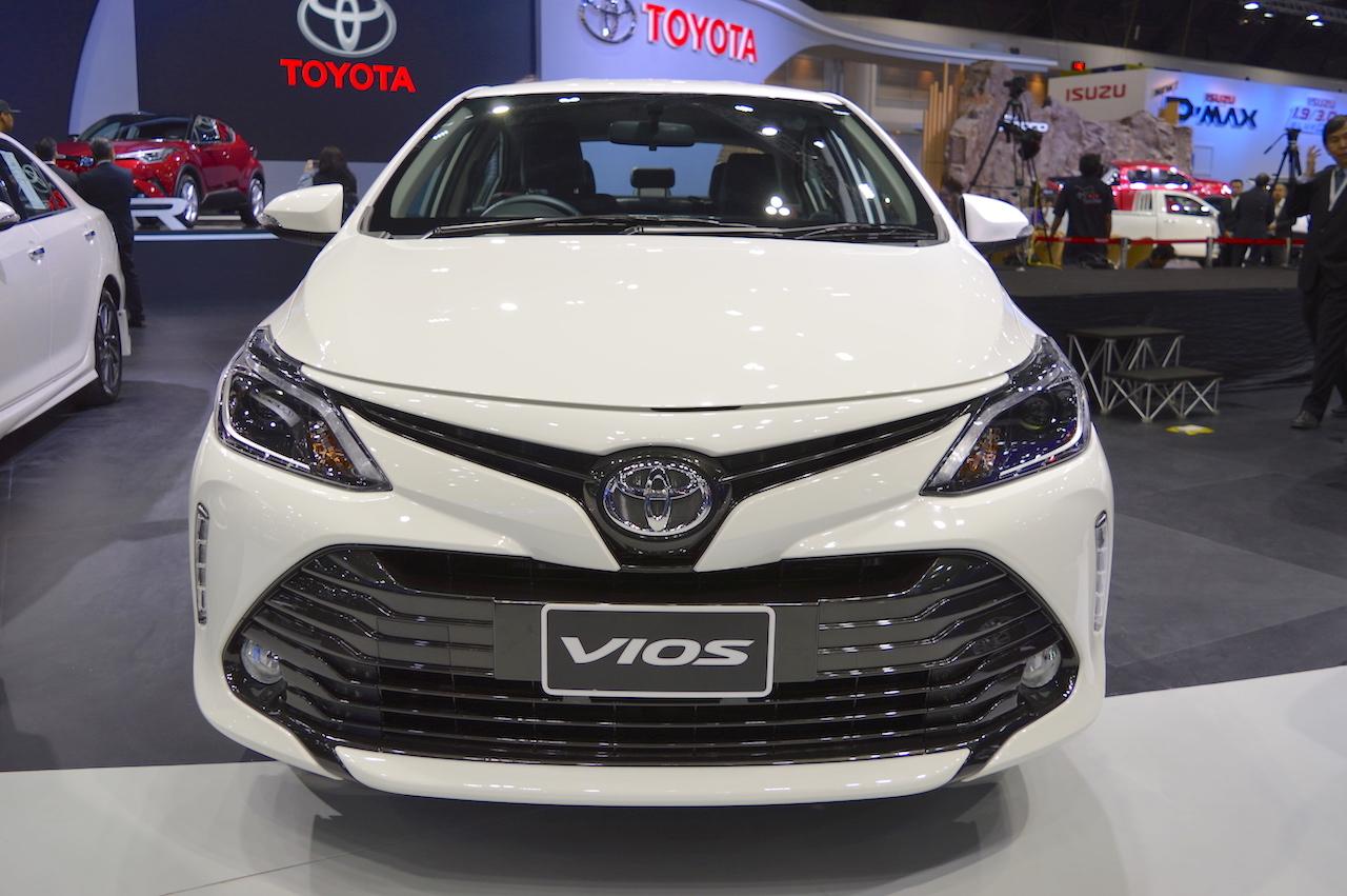 Toyota Vios Facelift at 2017 Thai Motor Expo 9