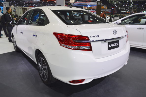 Toyota Vios Facelift at 2017 Thai Motor Expo 2