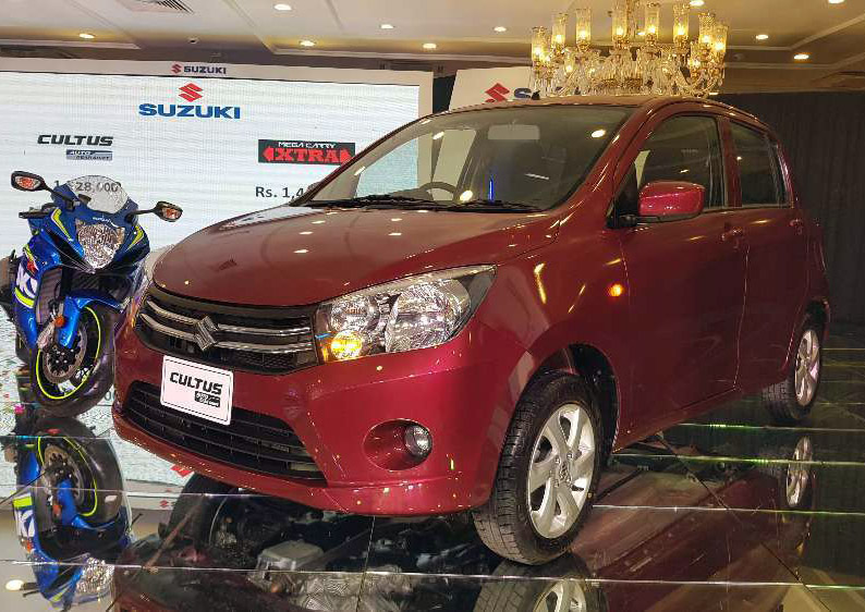Pak Suzuki Cultus Automatic Launched at PKR 15.28 lac, Mega Carry at PKR 14.99 lac 3