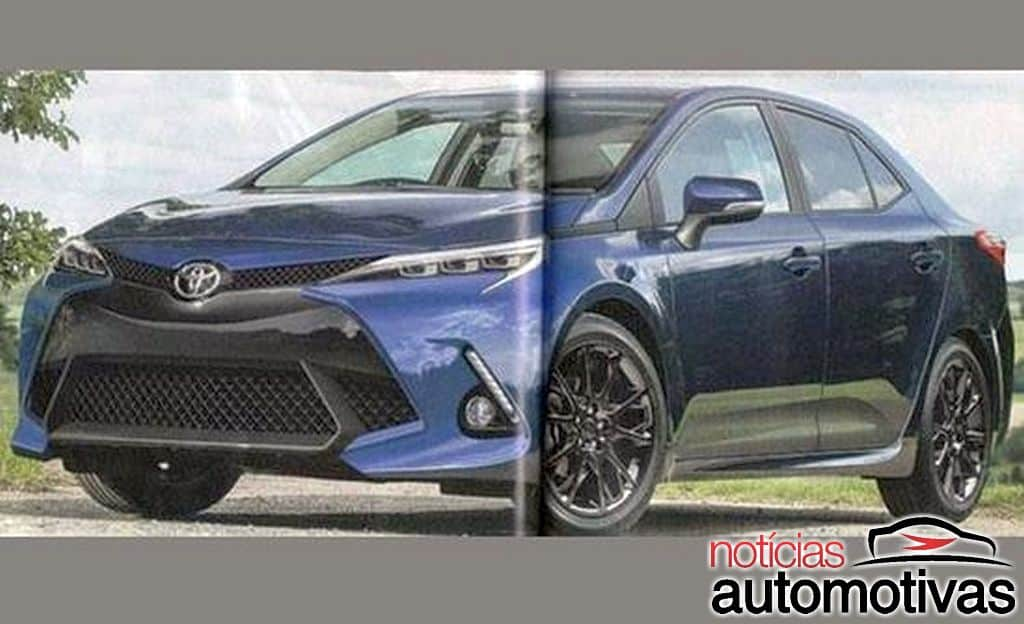 2019 Toyota Corolla Rendered by Japanese Media 1