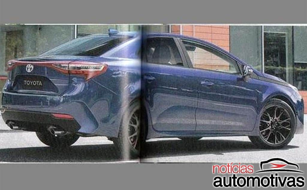 2019 Toyota Corolla Rendered by Japanese Media 2