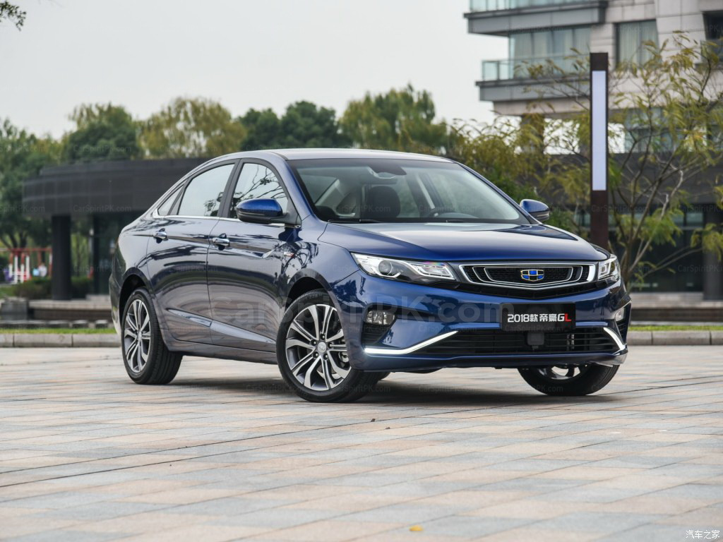 2018 Geely Emgrand GL Launched in China 5
