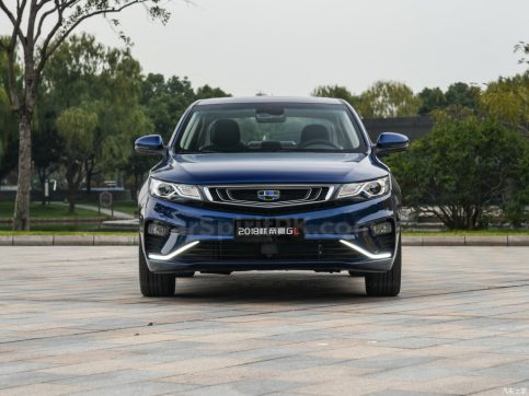 2018 Geely Emgrand GL Launched in China 4