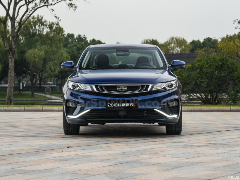 2018 Geely Emgrand GL Launched in China 3