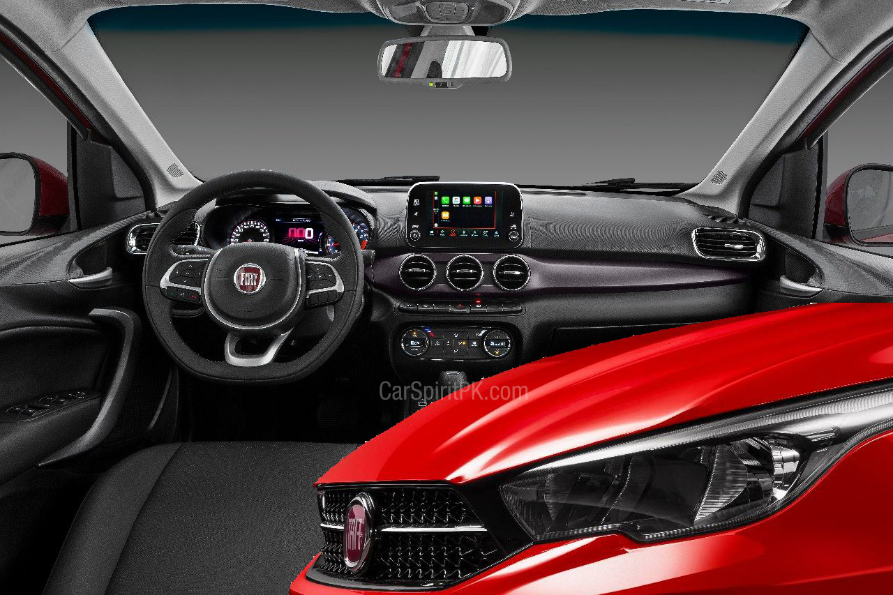 FIAT Cronos Interior Revealed 24