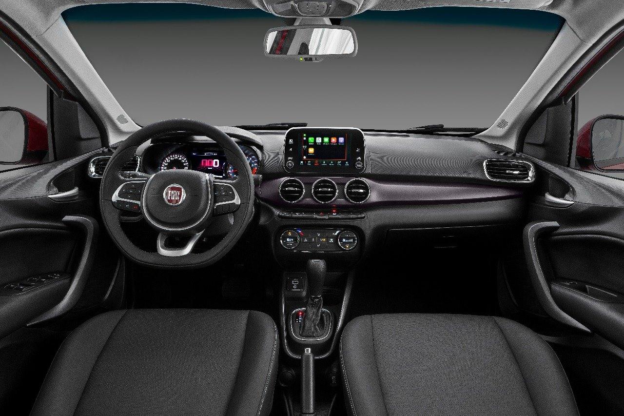 FIAT Cronos Interior Revealed 1