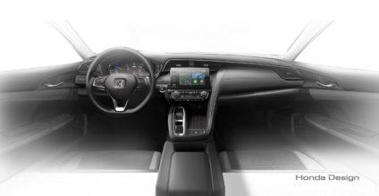 2018 Honda Insight Hybrid Prototype Revealed at Detroit 11