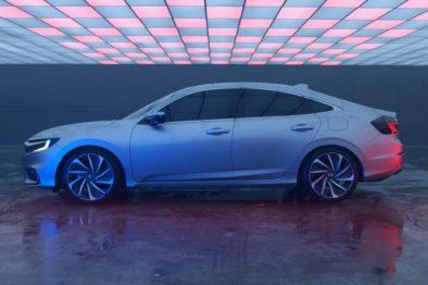 2018 Honda Insight Hybrid Prototype Revealed at Detroit 9