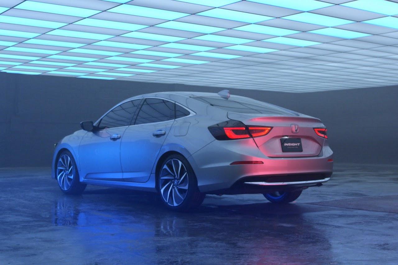 New Honda Insight Prototype Revealed 5