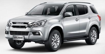 Isuzu MU-X Facelift Debuts in China 4