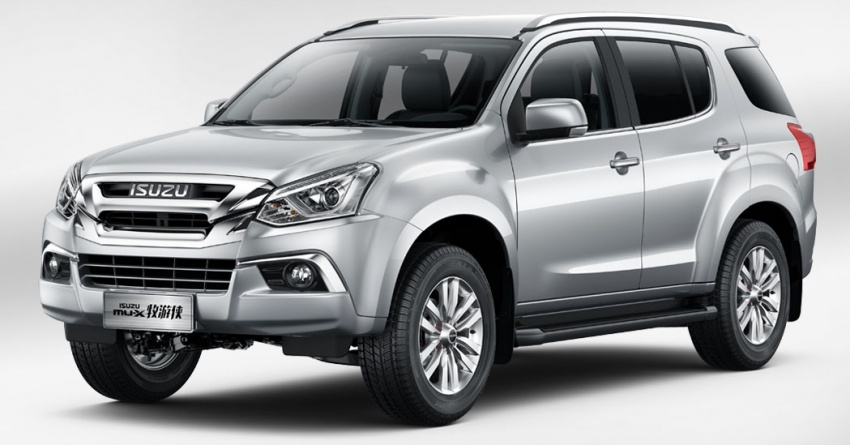 Isuzu MU-X Facelift Debuts in China 4
