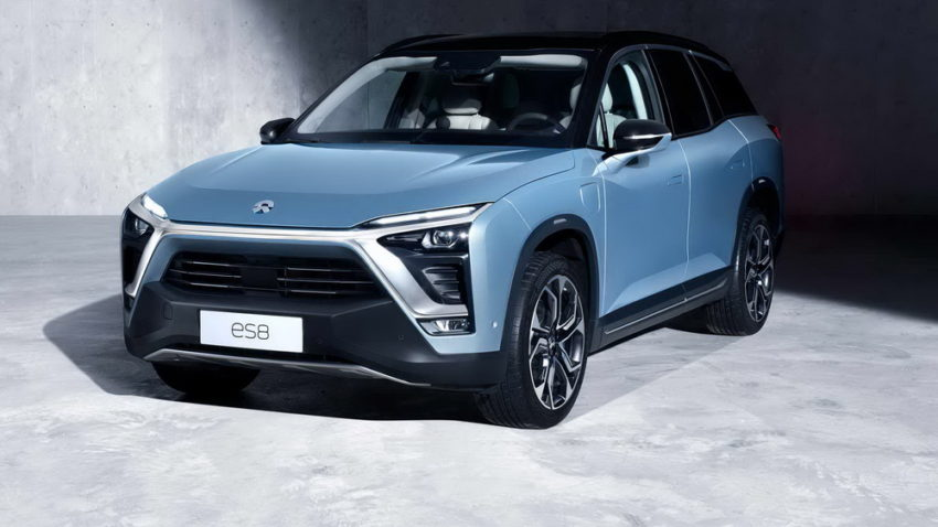 NIO Officially Launches the ES8 7-seat Electric SUV 2