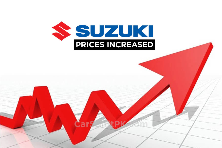 PakSuzuki Increase Prices From 1st January 2018 1