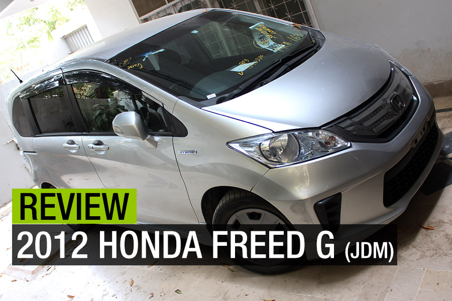 Review: 2012 Honda Freed G (JDM) 1