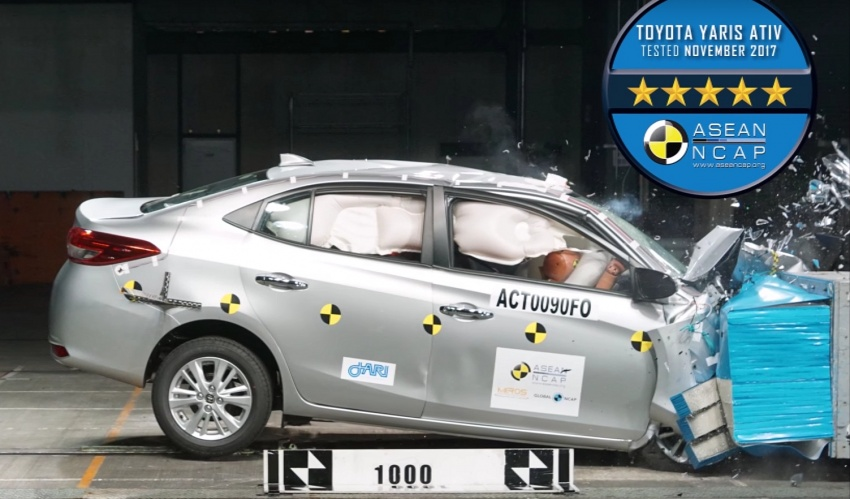 2018 Toyota Yaris Ativ Gets 5-Star ASEAN NCAP Rating 14