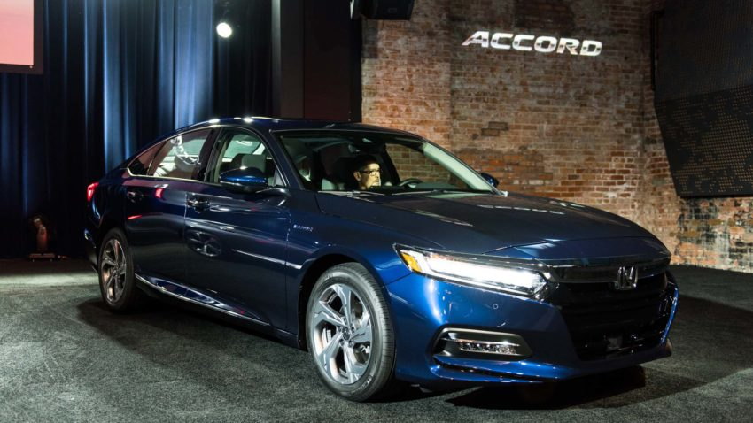Honda Accord has Won the 2018 North American Car of the Year Award 2