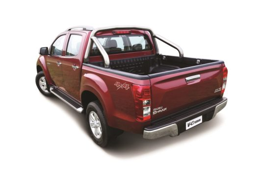 2018 Isuzu D-Max V-Cross Launched in India 2