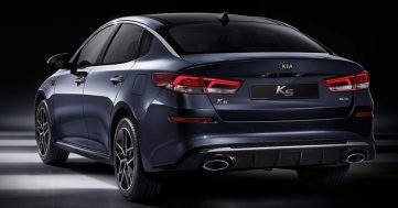 KIA K5 (Optima) Facelift Launched 3