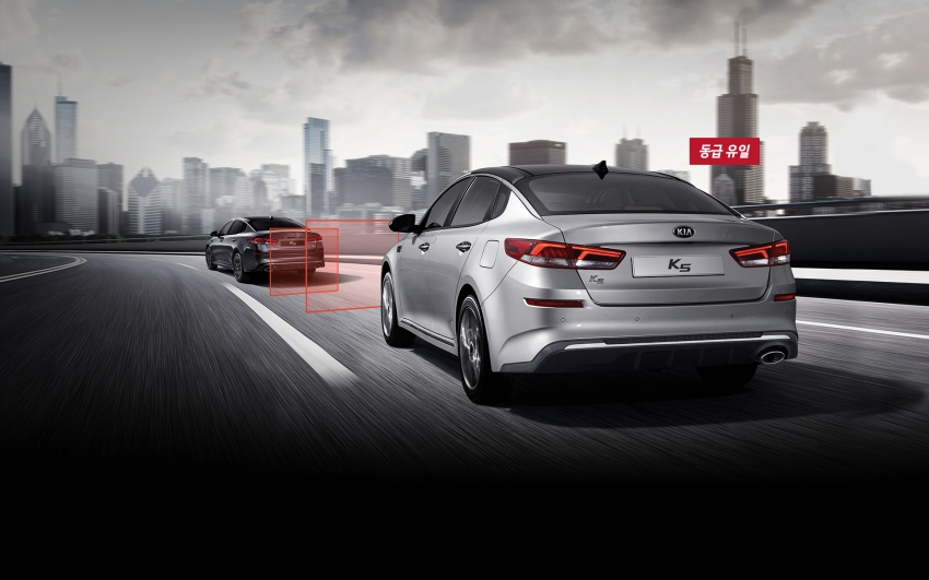 KIA K5 (Optima) Facelift Launched 15