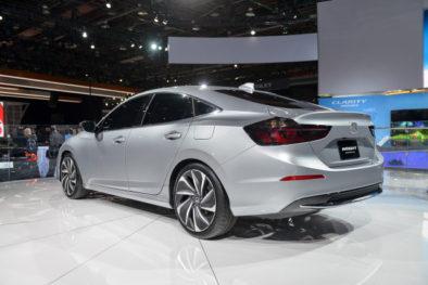 2018 Honda Insight Hybrid Prototype Revealed at Detroit 6
