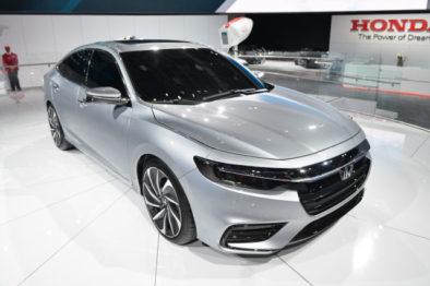 2018 Honda Insight Hybrid Prototype Revealed at Detroit 3