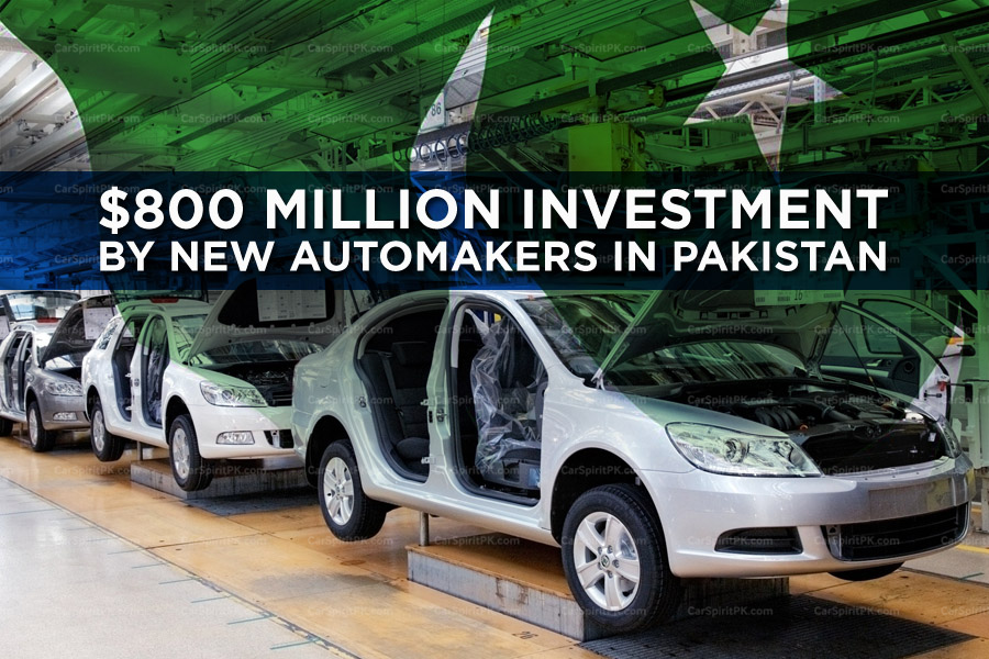 New Automakers to Invest Over $800 Million in Pakistan 14